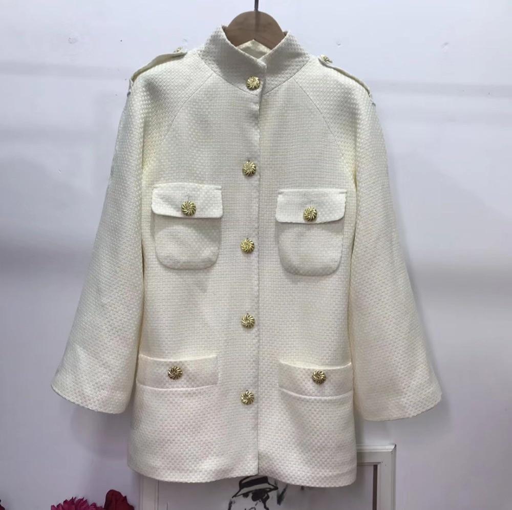 Unique Taille Incroyable Manteau Tweed Casaco 6xl Sobretudo Casual Abrigo Poche Élégant La Veste Laine Mujer 5xl Hiver Plus Feminino aqF8xna