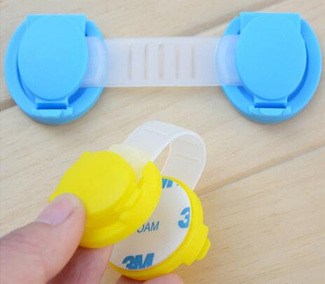 6 unids/lote cajón de los gabinetes de seguridad del bebé de bloqueo para niños