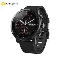 Huami Amazfit 2 Amazfit Stratos Pace 2 умные часы для мужчин с gps Xiaomi часы PPG монитор сердечного ритма 5ATM водонепроницаемый