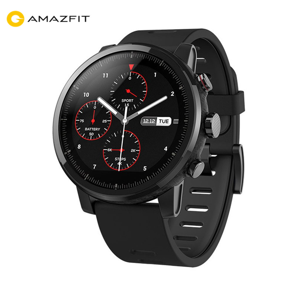 Huami Amazfit 2 Amazfit Stratos Pace 2 Smart Watch Men with GPS Xiaomi Watches PPG Heart Rate Monitor 5ATM WaterproofHuami Amazfit 2 Amazfit Stratos Pace 2 Smart Watch Men with GPS Xiaomi Watches PPG Heart Rate Monitor 5ATM Waterproof
