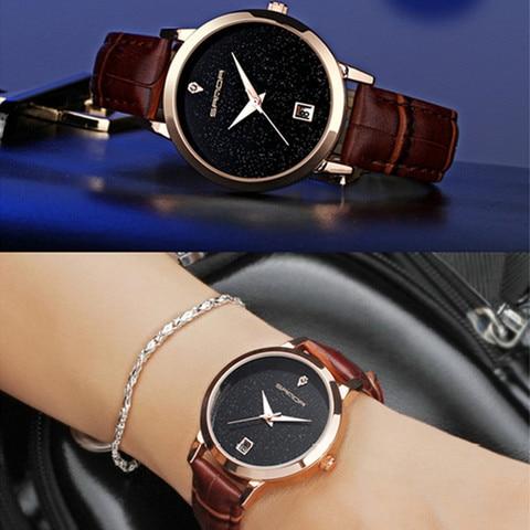 SANDA 2018 Fashion Watches Women Watches Ladies Luxury Brand Quartz Watch Women Clock Relogio Feminino Montre Femme Karachi