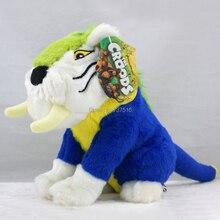 Yeni varış 11 inç peluş hayvanlar Croods yumuşak peluş kaplan bebek oyuncakları en iyi x mas noel hediyesi MACAWNIVORE