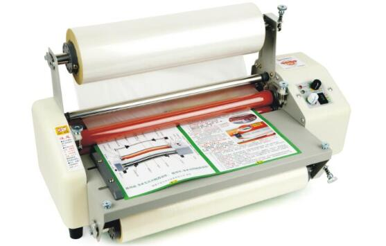 12th 8350T A3+ Four Rollers Laminator Hot Roll Laminator, High-end Speed Regulation Laminating Machine Thermal Laminator A3 220V 2018 new hot roll and cold roll laminator 320mm laminating machine with led control board and 4 pcs rubber rollers
