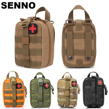 цена на Outdoor Tactical Medical Bag Travel First Aid Kit Multifunctional Waist Pack Camping Climbing Bag Emergency Case Survival Kit