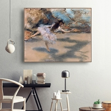 Dancer by Edgar Degas Canvas Painting Calligraphy and Poster Prints Living Room House Wall Decor Art Home Decoration Picture