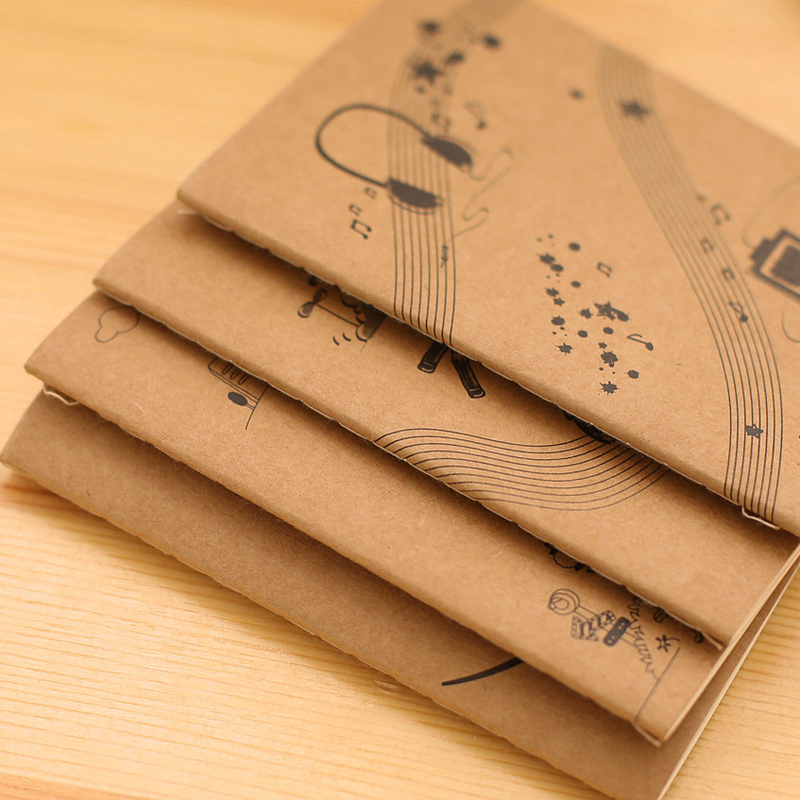 good time kraft paper notepad soft 64k notebook wholesale gifts Office & School Supplies Writing Pads notebook a4 inside page spiral 60 sheets 3 hole filler paper blank and line kraft paper office and school supplies writing pads