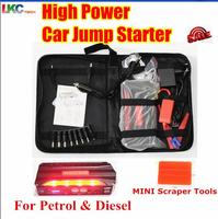 2016 Portable Car Jump Starter 12800mah Power Bank Emergency Auto Jump Starter Booster Auto Battery Pack