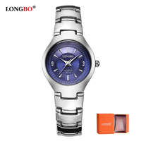 LONGBO Brand New Fashion Women Men Quartz Watch High Quality Ultra Thin Couple Wristwatches Luxury Lovers