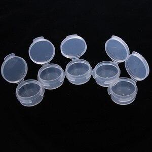 Image 4 - 10 adet makyaj kavanoz Mini örnek şişe sızdırmazlık Pot yüz kremi kabı taşınabilir şişe plastik şeffaf kılıf makyaj aksesuarı