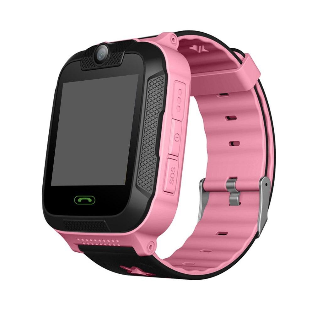 Enfants enfants jouet talkie-walkie montre intelligente 1.4 'écran tactile 3G podomètre SIM suivi en temps réel GPS poignet montre électronique Gf - 4