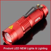 High Quality Mini LED Torch 7W 2000LM Q5 LED Flashlight Adju