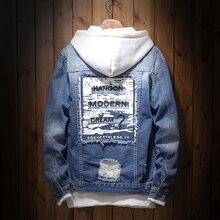 NEW Denim Jacket Men's Denim clothing ma