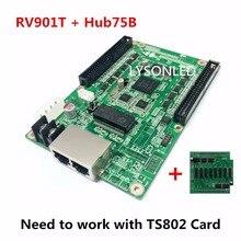 Linsn RV901 RV901T получения карты + HUB75B адаптер, LINSN RV901 получения карты и HUB75B доска