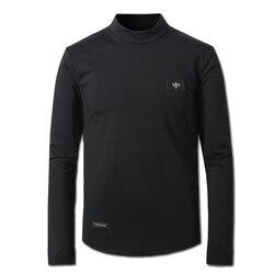 2016 men turtleneck t shirts tees tops camisa masculina men s casual fashion slim fit long.jpg 250x250