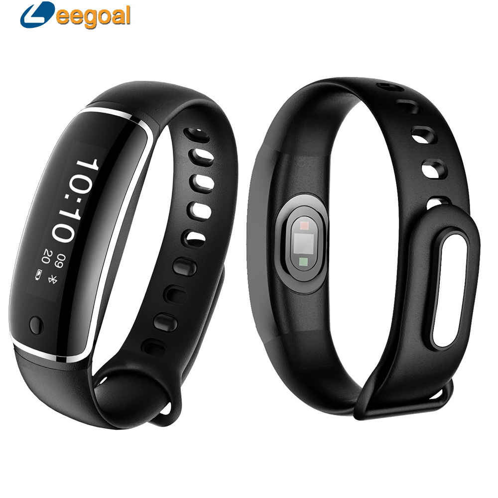 M4 Smart Bracelet Heart Rate Pedometer Waterproof Fitness Tracker Blood Pressure Bluetooth 4 0 OLED Display