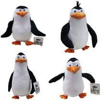 4pcs/set plush toys  Madagascar penguin eldest brother novice doll Valentine's day gifts