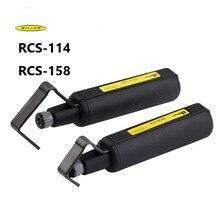 Glasfaser tool fiber optic kabel mantel schneide maschine RCS 114 Miller runde kabel stripper RCS158 kabel stripper
