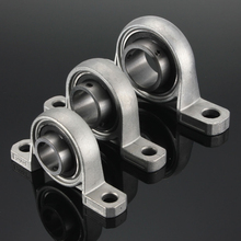 2pcs/lot KP08 KP000 KP001 KP002 KP003 KP004 KP005 KP006 Zinc Alloy Diameter Bore Ball Bearing Pillow Block Mounted Support