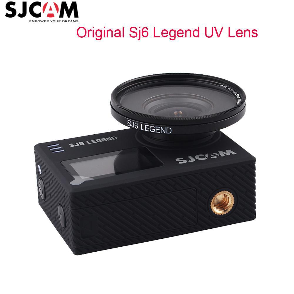 Original SJCAM Accessories SJ6 MC UV Lens with Protection Cap Anti-Scratch UV Lens Protector For SJ6 Legend 4K Action Camera домашний кинотеатр lg sj6 sj6