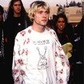 Kurt Cobain Nirvana Camisetas Daniel Johnston Roll rock t Hi How Are You Letter Print camiseta de Algodón camisa O Cuello camiseta
