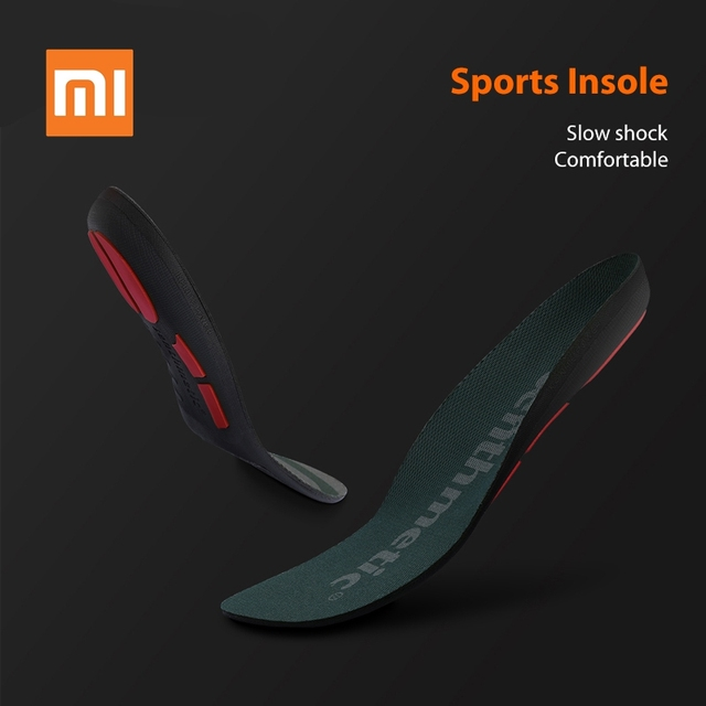 Original Xiaomi Youpin Cushioning Insole Shoes Pad Multiple Shock Absorbing Running Insole Rebound Support Sole Sports Insole