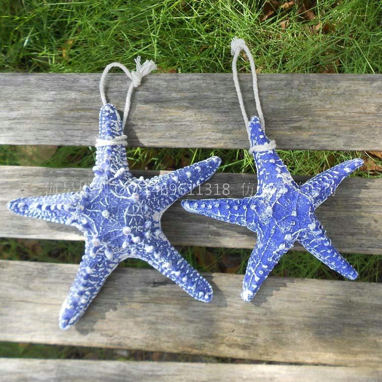 You And Me Mediterranean Resin Decorative Wall Hangings Starfish Wedding Fish Tank Aquarium Decoration Ornaments Crafts