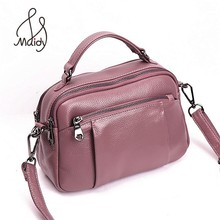 Casual Luxury Women The First Layer Cowhide Leather Handbags Clutch Crossbody Envelope Bags Satchel Messenger Shoulder Maidy luxury women girls genuine soft cowhide cow leather messenger shoulder flap bags handbag shell crossbody satchel handbags maidy