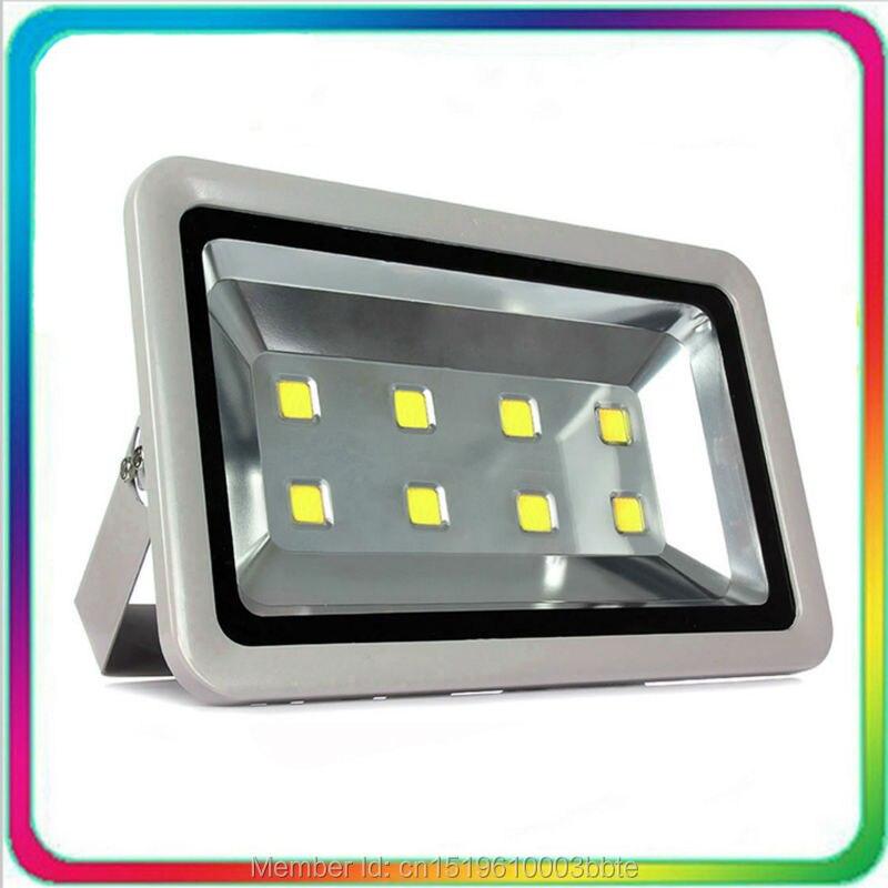 4PCS Warranty 3 Years 100-110LM/W Waterproof Outdoor LED Flood Light LED Floodlight 400W Spotlight Tunnel Bulb