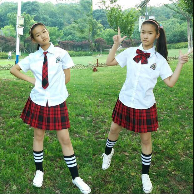 164af41b1f366 Fashion American High School Students Skirt Uniform Sexy Short Cosplay JK  Plaid Skirt Women Black Pleated Skirt 9 Colors-in Skirts from Women's ...