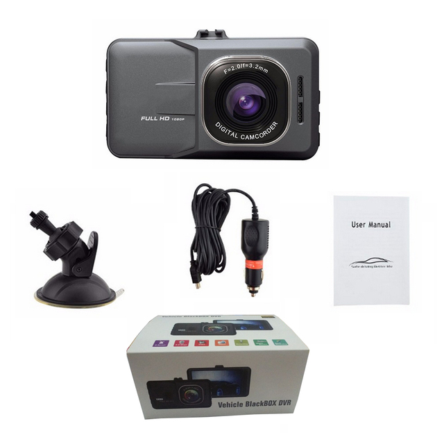 Parking Recorder G-Sensor Dash Cam 5