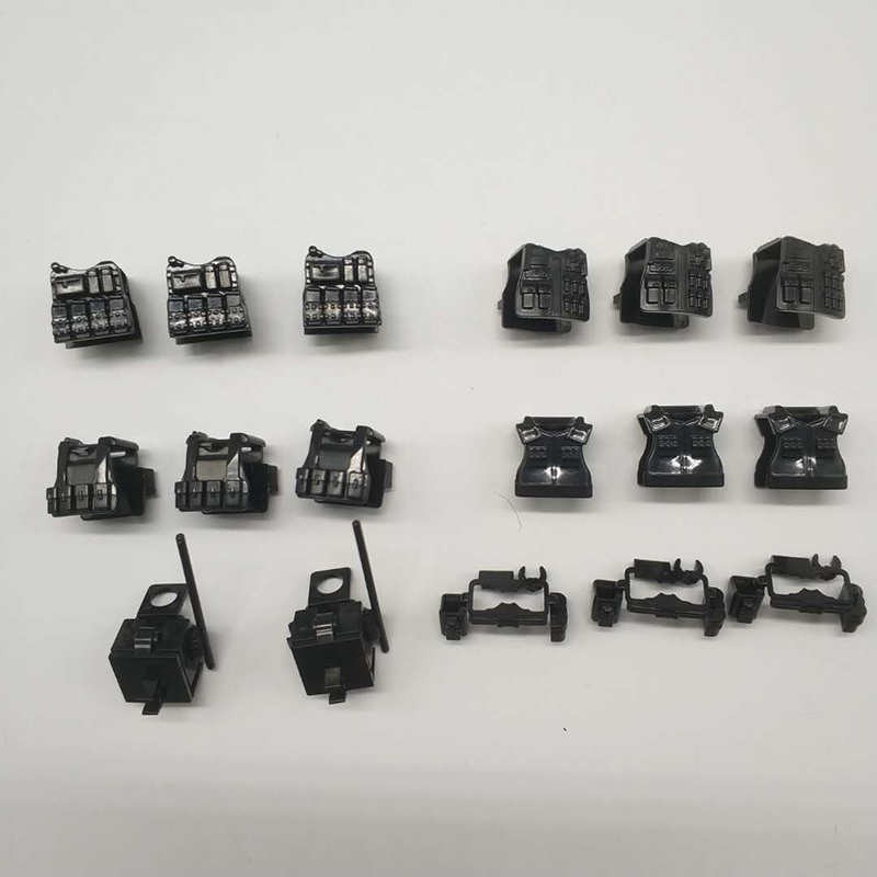 10PCS SWAT Police Body Armor Accessories Bricks WW2 Military Soldiers Weapons Assemble Particles Building Blocks LegoINGlys Toy military city police swat team army soldiers with weapons ww2 building blocks toys for children gift