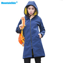 2017 Women's Autumn Fleece Softshell Thermal Jackets Outdoor Waterproof Coats Hiking Climbing Trekking Female Windbreaker MB115