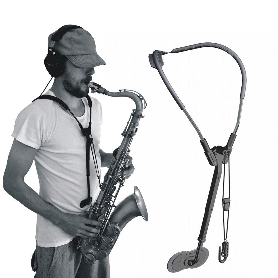 Accessoires Saxophone Alto ténor réglable courroie d'épaule de cou pièces musicales sangle saxo ou transfert de harnais saxo