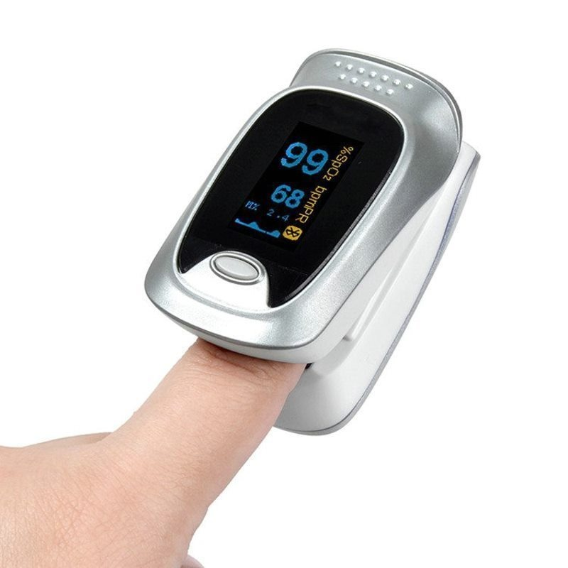 Oximeter finger clip type pulse oximetry heart rate heart rate sleep monitoring monitor Bluetooth butta singh entropy and heart rate variability