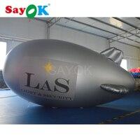Рекламный надувной воздушный шар гелиевый аэростат, надувной дирижабль гелиевый воздушный шар для продажи
