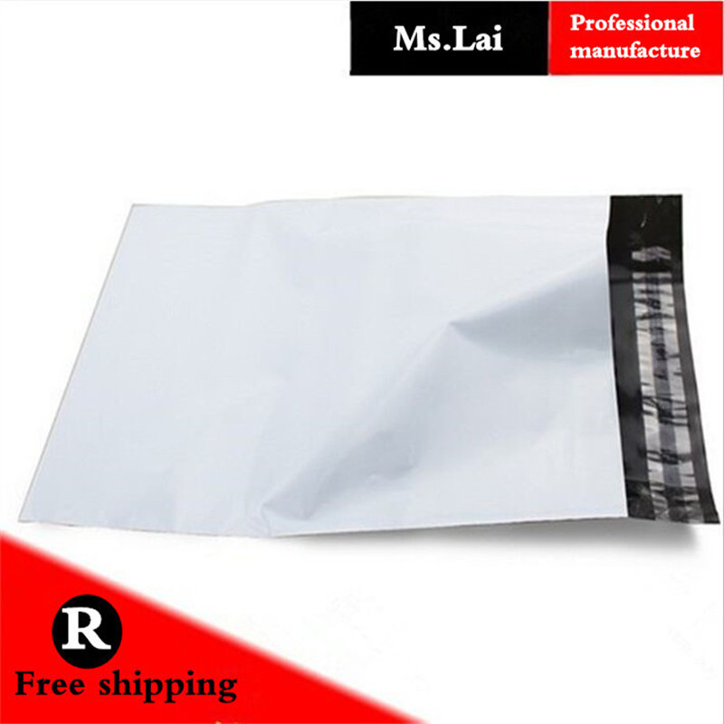 50pcs 25x35cm 10x14 Quot High Quality White Self Seal Mailbag