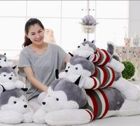 2016 new a cute plush pillow husky dog doll doll cute doll gift comfortable family applicable textile products
