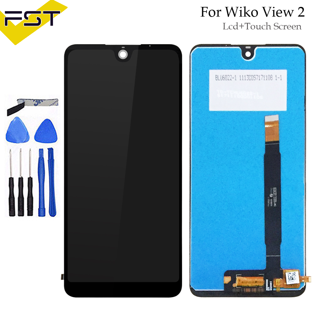 720*1528 For Wiko View 2 LCD Display with Touch Screen Digitizer Mobile Phone Accessories For Wiko View 2 Lcd Sensor+Tools720*1528 For Wiko View 2 LCD Display with Touch Screen Digitizer Mobile Phone Accessories For Wiko View 2 Lcd Sensor+Tools