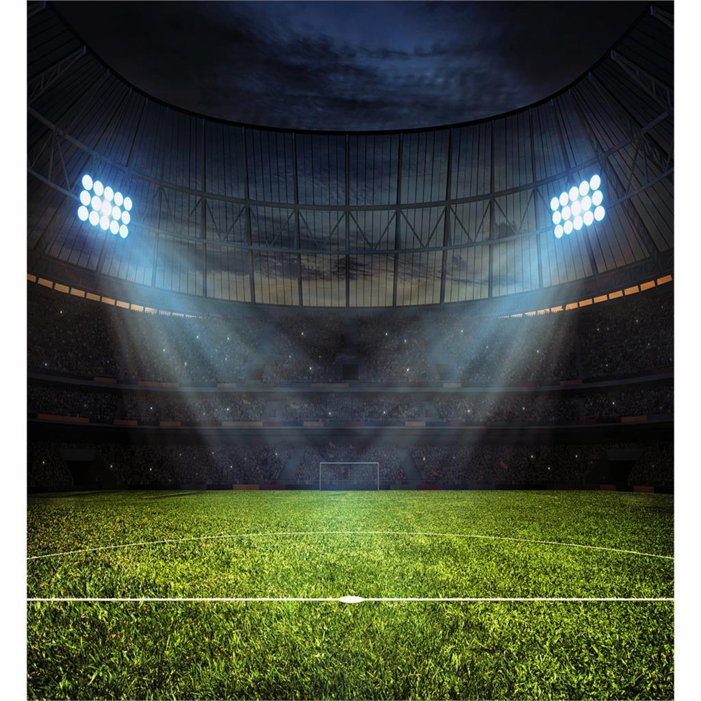 Allenjoy background photography Night football stadium lights