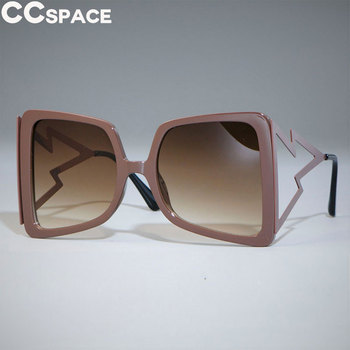 Women Oversized Sunglasses Cat Eye Big Wide Temple Fashion Shades UV400 Vintage Brand Glasses Oculos 47801
