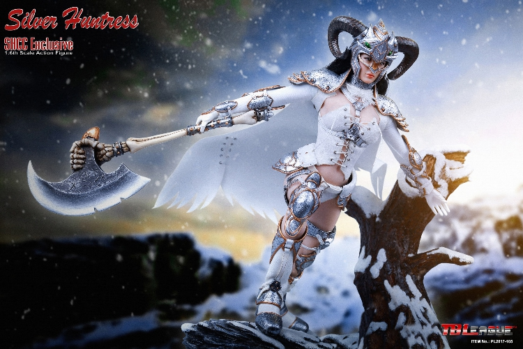 TBLeague 1/6 Bilancia Argento Huntress (SHCC Esclusiva) Deluxe Collector Figure