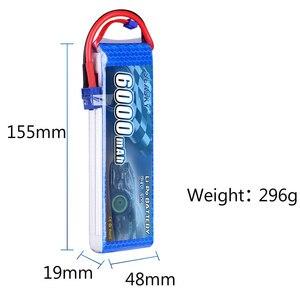 Image 3 - SEASKY 2S lipo batterie 7,4 v 6000mAh 60C RC batterie lipo 7,4 V Batterie XT60 für FPV drone auto