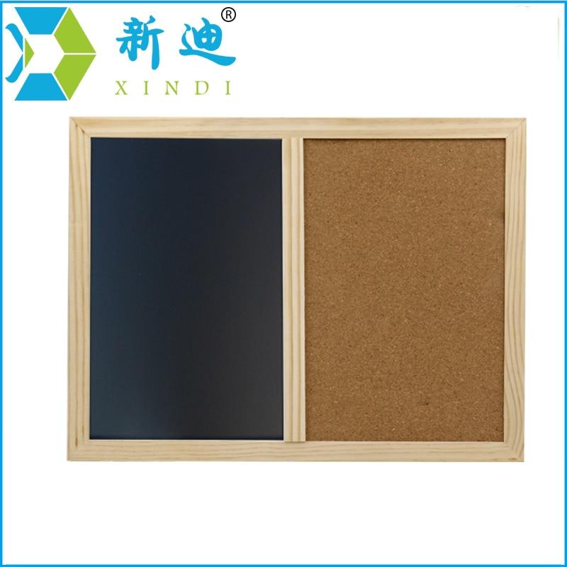 XINDI Nuevo 2018 marco de madera 60*40 cm corcho pizarra magnética ...