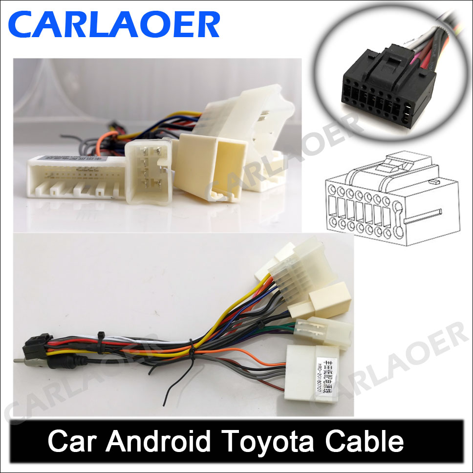 Car Android Toyota Cable