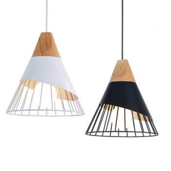 Винтажный подвесной светильник s, железный Лофт светильник, скандинавский Ретро светильник, промышленный светильник в клетку, светильник д...