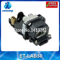 Bombilla de repuesto para proyector ET-LAB50 lámpara con la vivienda para PT-LB50 PT-LB51 PT-LB51NTE PT-LB50NTE PT-LB50SE PT-LB50U PT-LB50SU...