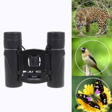 8×21 Zoomable Dustproof Dual Focus Optic Lens Telescope Binoculars