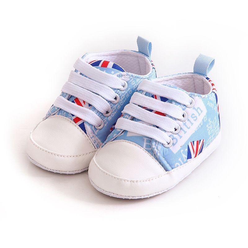 New Newborn Baby Boy Girl Kid Soft Sole Shoes Sneaker Newborn Casual Soft Bottom Anti-skid Shoes
