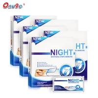Onuge Teeth Whitening Night Dry Strips Kits 5 Boxes Advanced Whitestrips Sleeping Use Original Oral Hygiene Teeth Whitening