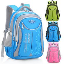 Torby szkolne dla dzieci dziewczyny chłopcy plecaki szkolne ortopedyczne dziecięce plecaki plecaki do szkoły podstawowej plecaki księżniczki Mochila Infantil tanie tanio FZMBAI NYLON zipper Backpack 0 6kg 40cm Stałe 8561# Damsko-męskie 18cm 28cm Pink Black Blue Green 40*28*18cm 45*30*20cm